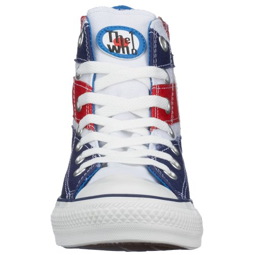 Converse Chaussures Chuck Taylor All Star Chucks 108833 Couleur : The Who Flag Angleterre UE : 36,5 UK : 4