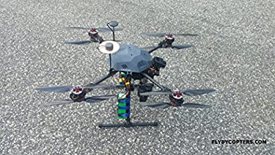 FlyByCopters Thermal Surveying/Mapping X8 640 R Quadcopter Drone With RTK Multi GNSS GPS by FlyByCopters