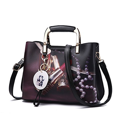 Purses and Handbags Top Handle Satchel Shoulder Bags for Women Ladies PU Leather Totes From Nevenka (3)