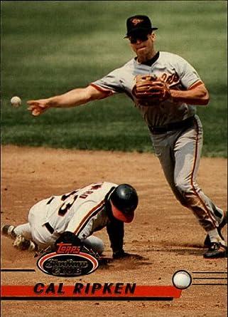 Amazoncom 1993 Topps Stadium Club Baseball Card 40 Cal