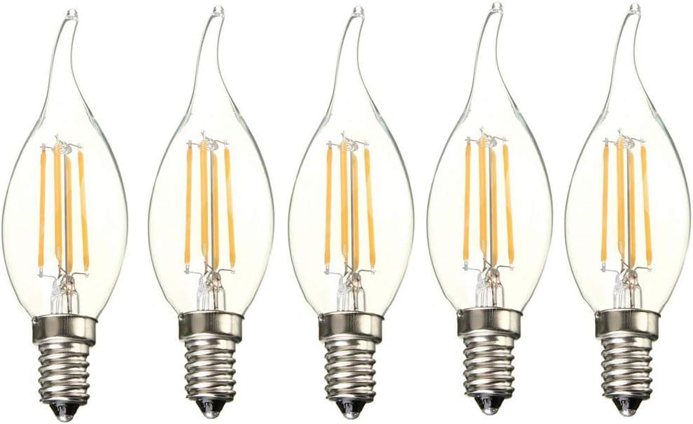 2.5 W 120 V E10 DEL Filament Bougie Ampoule-Réglable Bientôt pré commande