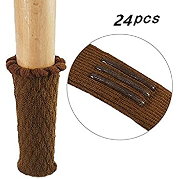 Amazon Com Tekeft Set Of 20 Chair Leg Wood Floor