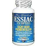 Essiac Tea Softgels, 796 mg, 120 Soft Gels, Eight Herb Essiac Tea, No Brewing, No Refrigeration, Great for Travel, 30 Day Supply