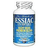 Essiac Tea Softgels, 796 mg, 120 Soft Gels, Eight Herb Essiac Tea, No Brewing, No Refrigeration, 30 Day Supply