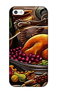 For Iphone Case, High Quality Thanksgiving Cartoon For Iphone 5/5s Cover Cases