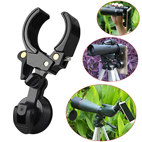 Eyeskey Universal Mobile Device Holder (Phone Adapter Mount) - Connect your binoculars monocular spotting scope microscope or astronomical telescope with smartphones tablets or computers, Iphone, Ipad from Eyeskey