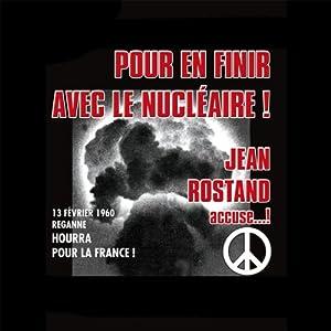 Pour en finir avec le nucléaire ! Hörspiel