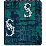 "MLB Seattle Mariners 50"" x 60"" Fleece Throw"