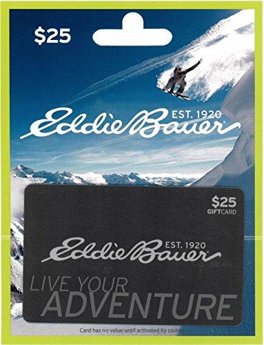 Eddie Bauer $25 Gift Card - Online Gift Card Canada