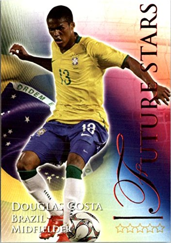 2010-11 Futera World Football Online Game Collection Ruby #709 Douglas Costa - - Costa Online Shop