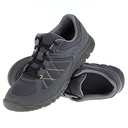 Quechua-Men-Hiking-Low-Shoes-Black
