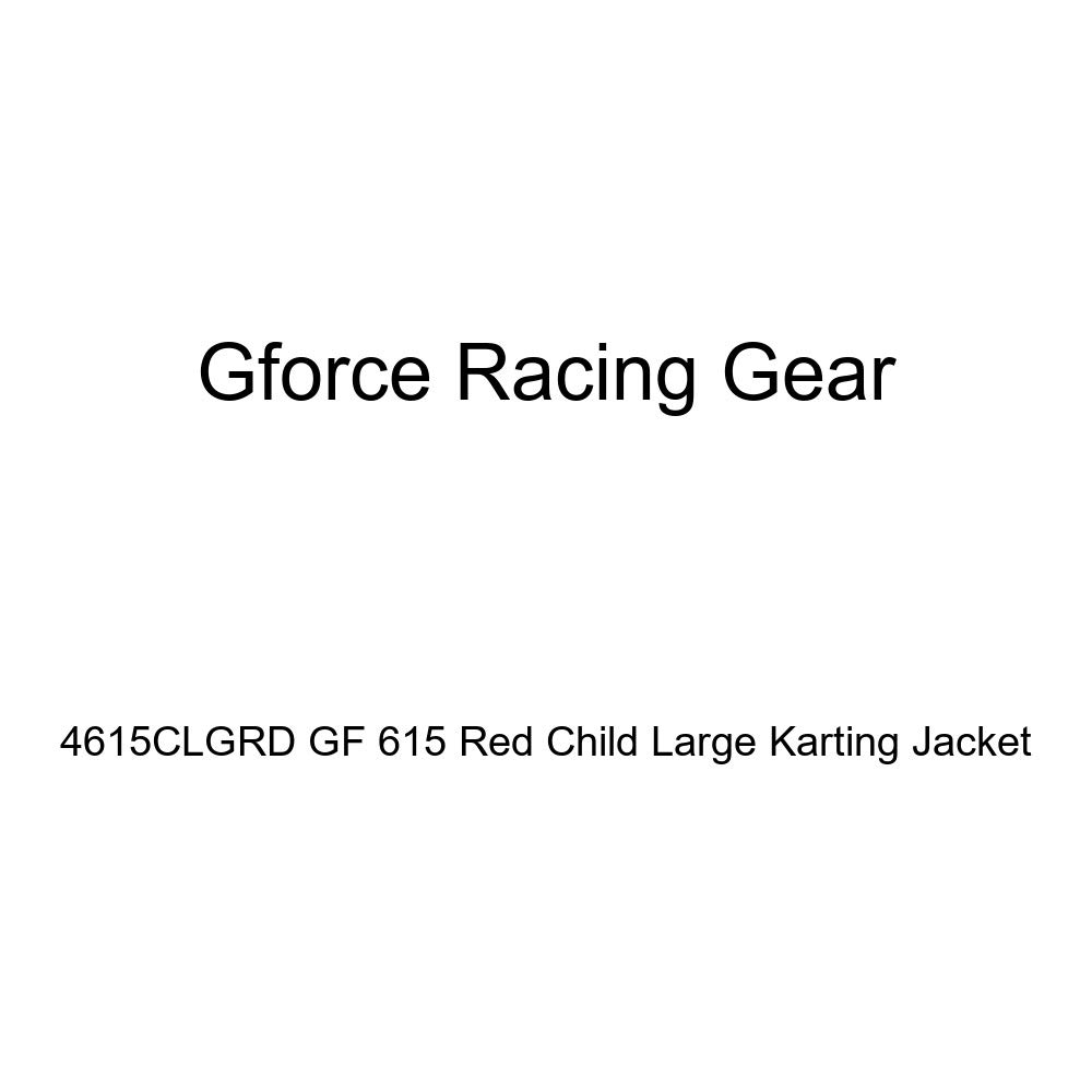 G-Force 4615CSMRD GF 615 Red Child Small Karting Jacket