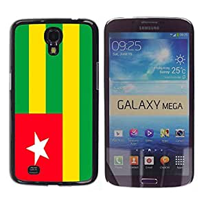 - Flag - - Hard Plastic Protective Aluminum Back Case Skin Cover FOR Samsung Galaxy Mega 6.3 i9200 i9208 Queen Pattern