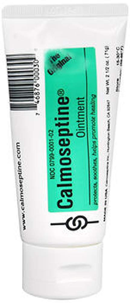 Calmoseptine Ointment 2.5 oz Ointment