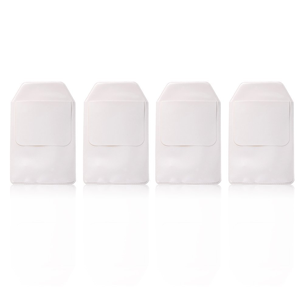 KLOUD City 4 PCS White Pocket Protector for Pen Leaks