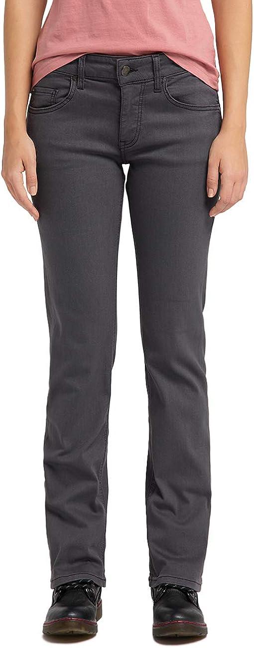 MUSTANG Damen Comfort Fit Julia Straight Jeans 480 Schwarz