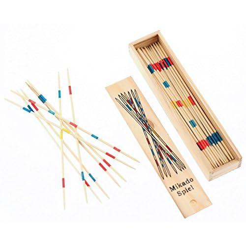 Mikado jeu de bâtonnets en bois Jeu de Société
