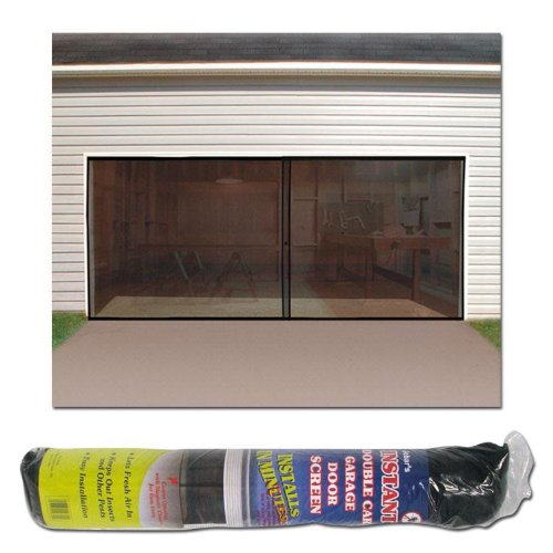 2 Car Garage Screen Enclosure (Two Car Garage Doors)