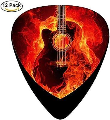 stremusic guitarra On Fire música de graves guitarra eléctrica 12 ...