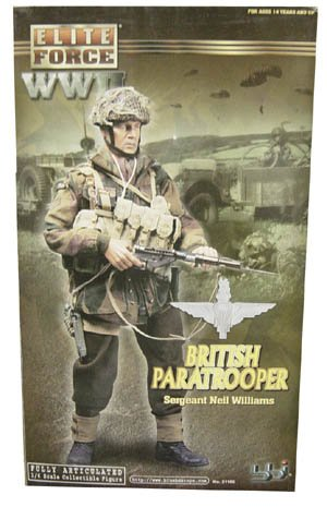 Sergeant Camo Adult Boots (BBI - Elite Force WWII British Paratrooper Sergeant - Neil Williams - 1/6 Scale (12 inch) collectible figure)