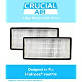:2-Pack Holmes, HoneyWell, VICKS HEPA Air Cleaner Filter, Compare To Filter Part # 16216, HRC1 & Holmes Part # HAPF30, HAPF30D, HAPF30CS, Designed & Engineered By Crucial Air