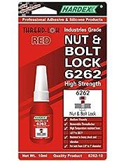 HARDEX Nut & Bolt Lock 6262 RED