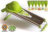 V Blade Stainless Steel Mandoline Slicer - Fruit and Food Slicer,...