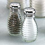 Tablecraft BH2 Beehive Salt/Pepper Shakers - 2 oz. capacity
