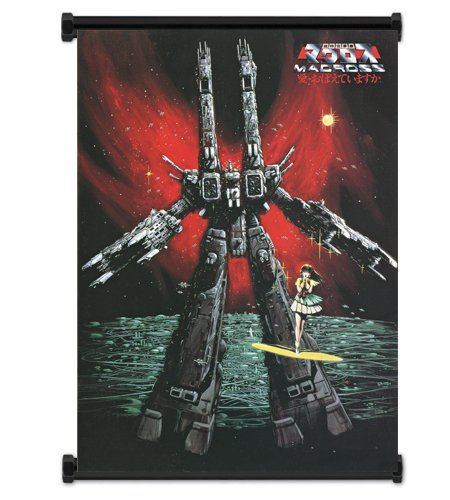 Macross Anime Fabric Wall Scroll Poster Wp -Macross-9