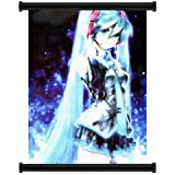"1 X Vocaloid: Hatsune Miku Anime Fabric Wall Scroll Poster (16""x23"") Inches"