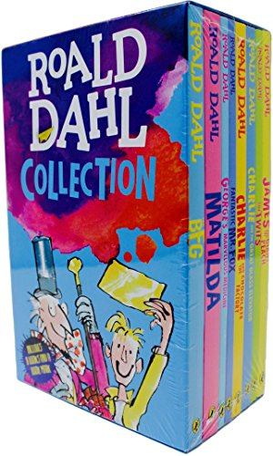 Roald Dahl Collection: 8 Book Box Set ()