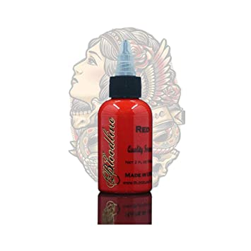 ccad68178 Amazon.com: Skin Candy tattoo ink, bloodline red,1oz: Beauty