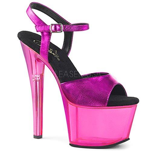 (Pleaser Women's Sky-309MT Ankle-Strap Sandal)