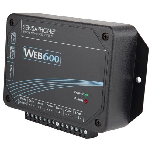 Sensaphone Web600 Web-Monitor Alarm, No Land Line Needed by Sensaphone (Image #2)