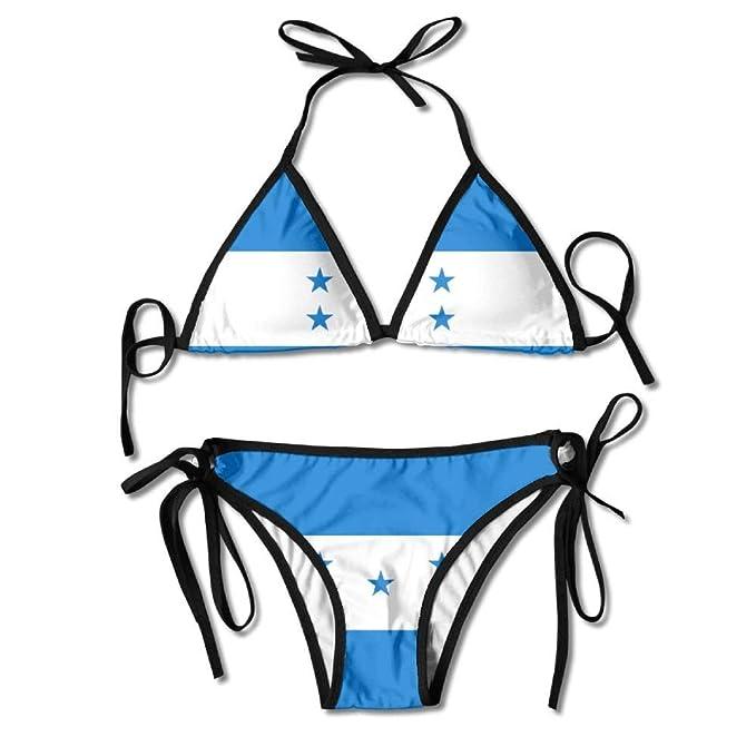 Bandera de Honduras Mujeres Sexy Traje de baño en la Playa ...