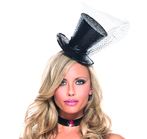 [Adult Women's Mini Top Hat Novelty Party Halloween Costume Accessory] (Moulin Rouge Costumes)
