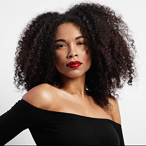 Beauty : LEJIMEI Short Kinky Curly Wigs for Black Women- Afro Wigs Medium Length Synthetic Hair Wig Natural Looking Fashion Wig with Free Wig Cap