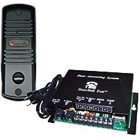 DoorBell Fon S-Series SlimLine Door Station Kit, Black (DP38-BKS)