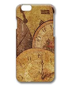 iCustomonline Clock Antique Arrow Texture Case & Cover for iPhone 6 Plus 5.5 inch 3D PC Material