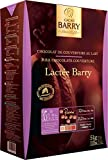 Cacao Barry ''Lactee Barry'' 36% Milk Chocolate Couverture Pistoles, 5kg,11.0 Lbs Box