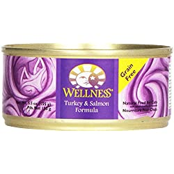 Wellness Cat Food Turkey & Salmon, 5.5 oz