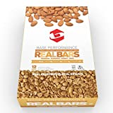 BASE Performance REAL BAR Box of 12 - Almond Peanut Flavor | Gluten Free, Soy Free, GMO Free, and Dairy Free - Contains Peanuts / Almonds / Honey / Oats and many other natural ingredients