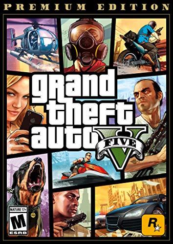 Grand Theft Auto V: Premium Edition – PC [Online Game Code]