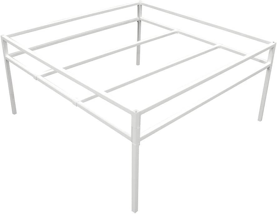 Fast Fit Tray Stand 4' x 4' Toolless Assembly For Hydroponics, White