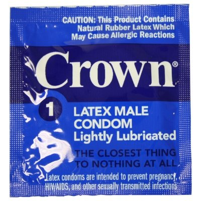 thailand - Okamoto Crown Skin Less Skin: 36-Pack of Condoms -