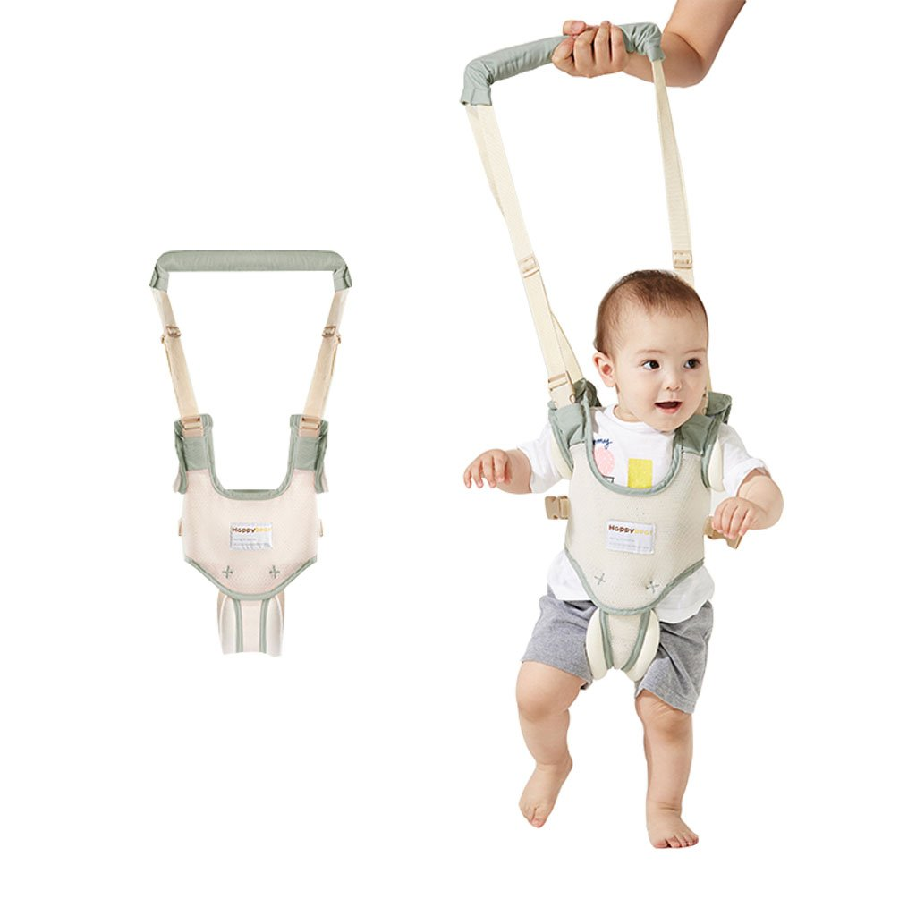 Baby Walking Harness, Toddler Safety Reins Walking Wings Kids Assistant Dual Purpose,Green Vine Trading Co ltd F180502XBD0101V