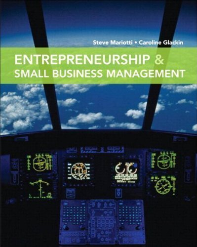 Entrepreneurship and Small Business Management Plus MyBizSkillsKit -- Access Card Package by Mariotti, Steve Published by Prentice Hall 1st (first) edition (2011) Paperback