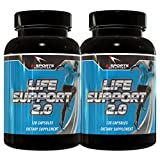 Ai Sports Nutrition Life Support 2.0 Twin Pack, 2-120 Count Bottles Comprehensive Organ Support For Sale