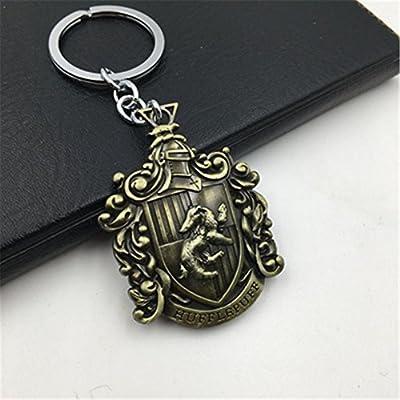 yournelo Vintage Hogwarts Harry Potter Metal llavero bolsa ...