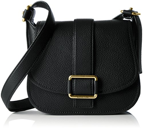 MICHAEL Michael Kors Women's Maxine Saddle Bag, Black, One - Buy Kors